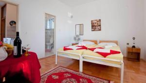 Vila Skocidjevojka, Appartamenti  Petrovac na Moru - big - 25