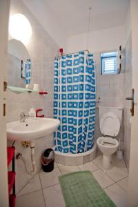 Vila Skocidjevojka, Appartamenti  Petrovac na Moru - big - 31