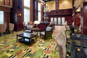 Hampton Inn & Suites Buda, Отели  Буда - big - 44