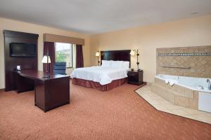 Hampton Inn & Suites Buda, Отели  Буда - big - 37