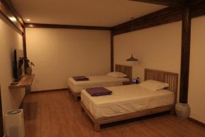 Deluxe Zweibettzimmer (Ohne Fenster)
