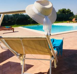 Villa con piscina Casale di Giò nel Golfo di Castellammare, Vily  Partinico - big - 64
