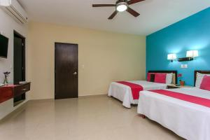 Koox Siglo 21 Corporate Aparthotel, Residence  Mérida - big - 8