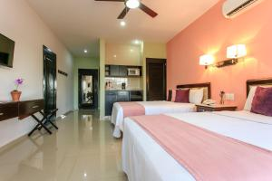 Koox Siglo 21 Corporate Aparthotel, Residence  Mérida - big - 7
