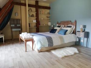 La Cour d'Hortense, Bed & Breakfast  Sailly-Flibeaucourt - big - 90