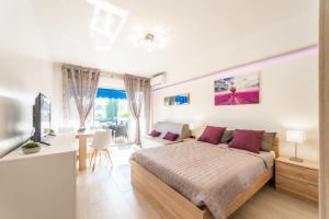 ** L Ascot - Grand Studio - Pk +Wifi, Апартаменты  Кань-сюр-Мер - big - 7