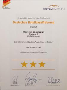 Zum Eichenzeller, Отели  Eichenzell - big - 28
