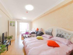 Aiqinhai ApartHotel, Апартаменты  Jinzhou - big - 19