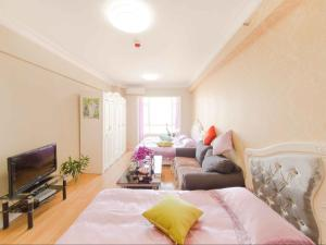 Aiqinhai ApartHotel, Апартаменты  Jinzhou - big - 23