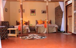 Lake Mulehe Gorilla Lodge, Chaty  Kisoro - big - 5