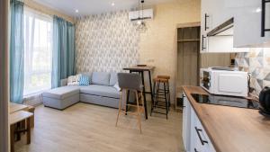 Apartamenty LIuKS na ul. Kuvshinok, 8a, Apartmány  Adler - big - 13