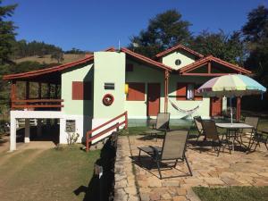 Pousada Seriema e Camping, Affittacamere  Cunha - big - 99