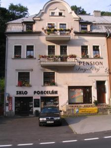 3 stern appartement Apartmany Ingeborg Jáchymov Tschechien