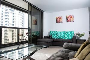 Modern 639 Lonsdale APT, Apartmanok  Melbourne - big - 2