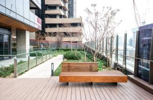 Modern 639 Lonsdale APT, Apartmanok  Melbourne - big - 14