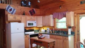 Baird's Creek Cabin, Dovolenkové domy  Poplar Grove - big - 19