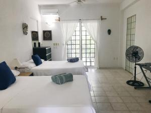Casa Mosaico, Apartments  Chetumal - big - 38