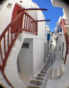 Mykonos town 4 pax, Апартаменты  Миконос - big - 25