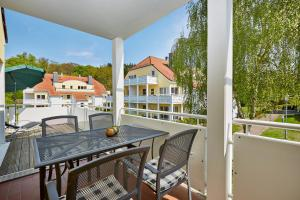 H+ Hotel Ferienpark Usedom, Apartmanok  Ostseebad Koserow - big - 11