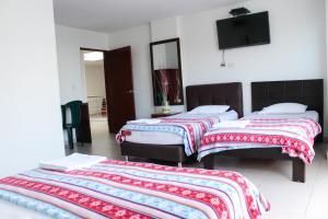 Hotel Santorini Neiva, Отели  Нейва - big - 7