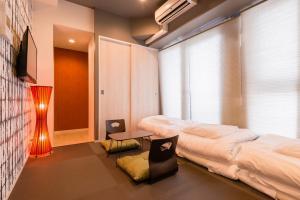 Grandi Nipponbashi Park Hotel, Apartments  Osaka - big - 2