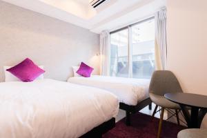 Grandi Nipponbashi Park Hotel, Apartments  Osaka - big - 55