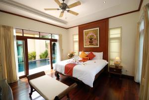 Les Palmares Villas, Курортные отели  Банг Тао Бич - big - 65