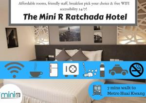 The Mini R Ratchada, Inns  Bangkok - big - 94
