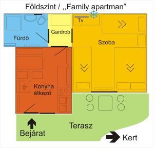 4 Évszak Apartman, Apartmanok  Gyula - big - 37