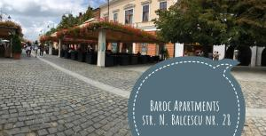 Baroc Apartments Sibiu, Appartamenti  Sibiu - big - 13