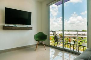 Luxury Apartments Donwtown, Appartamenti  Cancún - big - 39