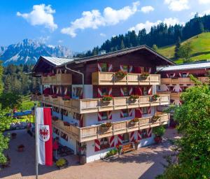 4 hvězdičkový apartmán Ferienappartements Landhof Ellmau Rakousko