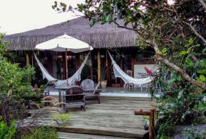 Cabana da Praia, Prázdninové domy  Caraíva - big - 35