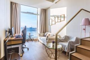 Wisetrip Riverside Apartments, Apartmanok  Hangcsou - big - 65