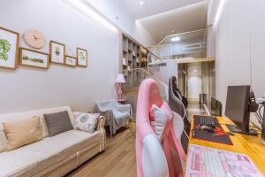 Wisetrip Riverside Apartments, Apartmanok  Hangcsou - big - 61