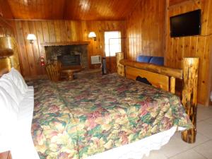 Mountain Trail Lodge and Vacation Rentals, Лоджи  Окхерст - big - 5