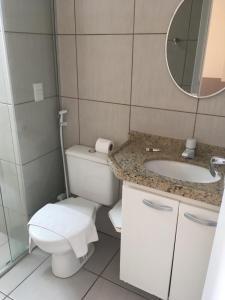 Atlantic Ocean, Apartments  Fortaleza - big - 33