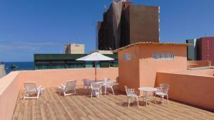 Grande 4Q na Orla da Barra, Apartmány  Salvador - big - 34