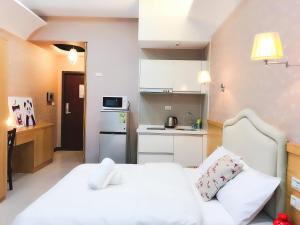 Q Square Garden Apartment, Appartamenti  Taipei - big - 103