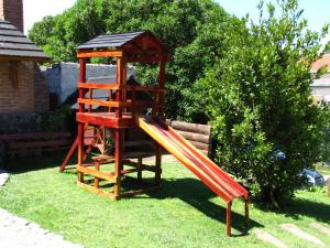 Loma Escondida Apart Cabañas & Spa, Turistaházak  Villa Gesell - big - 31