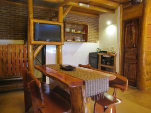 Loma Escondida Apart Cabañas & Spa, Lodges  Villa Gesell - big - 9