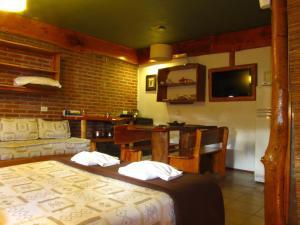 Loma Escondida Apart Cabañas & Spa, Lodges  Villa Gesell - big - 12
