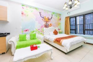 Guangzhou Bin Ke International Apartment Pazhou Branch, Apartmány  Kanton - big - 5