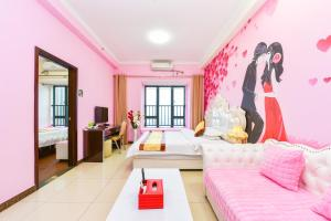 Guangzhou Bin Ke International Apartment Pazhou Branch, Apartmány  Kanton - big - 19