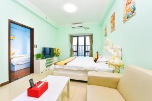 Guangzhou Bin Ke International Apartment Pazhou Branch, Apartmány  Kanton - big - 21
