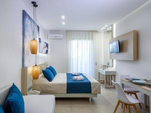 Marinos Beach Hotel-Apartments, Aparthotels  Platanes - big - 22