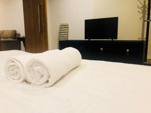 Lusso Suite Island Plaza, Apartmány  George Town - big - 137