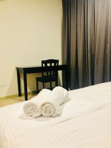 Lusso Suite Island Plaza, Apartmány  George Town - big - 60