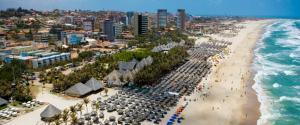 Atlantic Ocean, Apartments  Fortaleza - big - 17