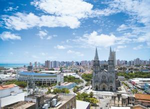 Atlantic Ocean, Apartments  Fortaleza - big - 9